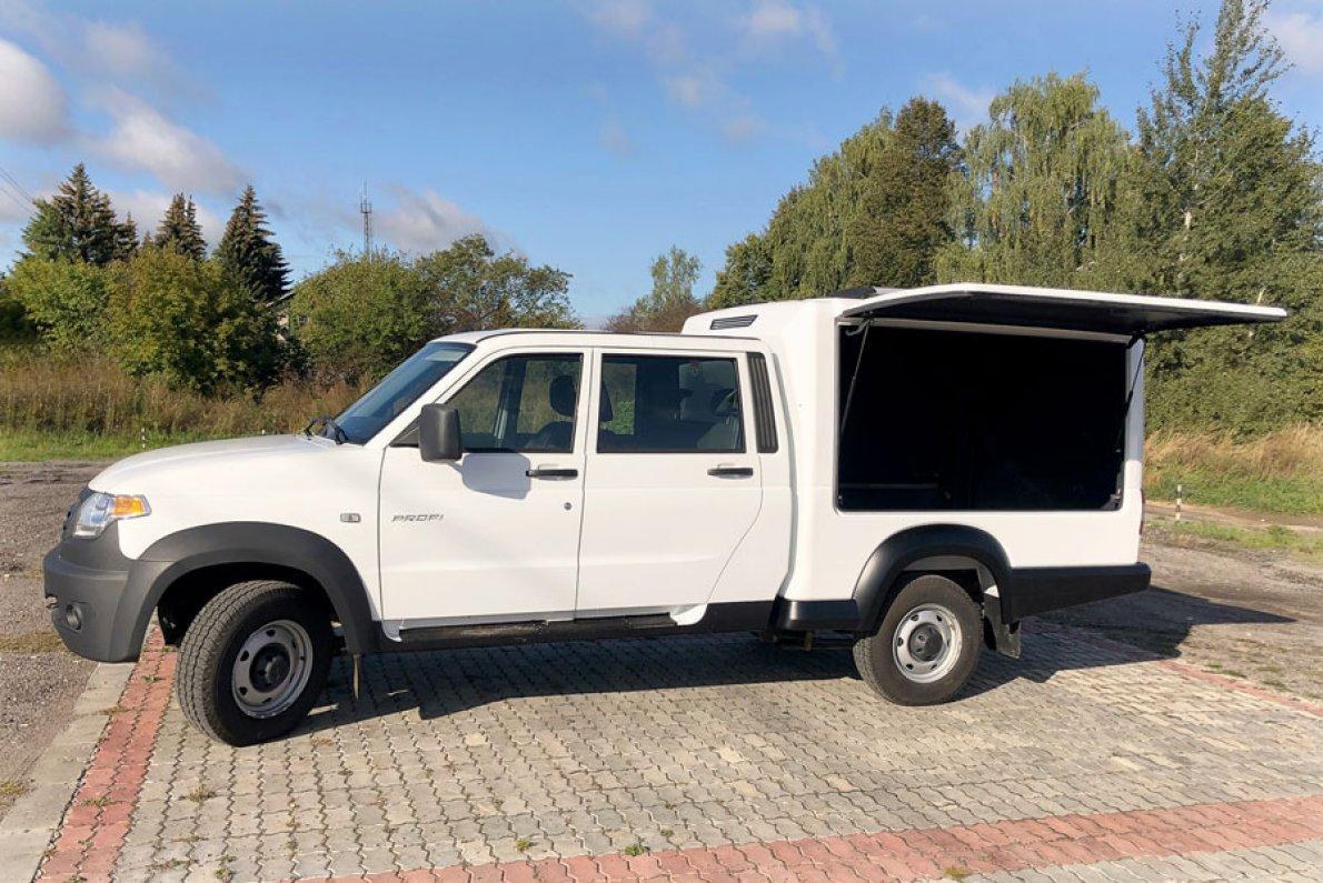 Новый фургон на базе Профи от производителя УАЗ