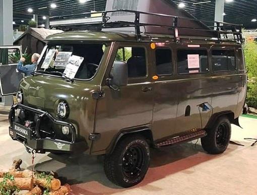 УАЗ представил новую «Буханку» в качестве дома на колесах