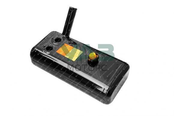Бак топливный правый Уаз 452 (усиленный / 30 литров / УМЗ 4213 / 2 отверстия) (Бакор) 2206-94-1102009-03