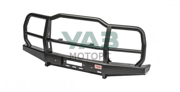 Бампер передний силовой (усиленный / с защитной дугой) УАЗ Хантер, 469 (RIF469-10602)