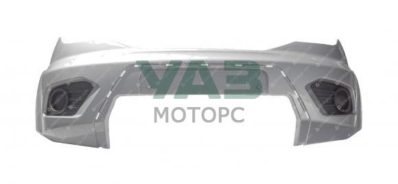 Бампер передний Уаз Патриот с 2015 года (SEB / серебристый) (ОАО УАЗ) 3163-80-2803012-02