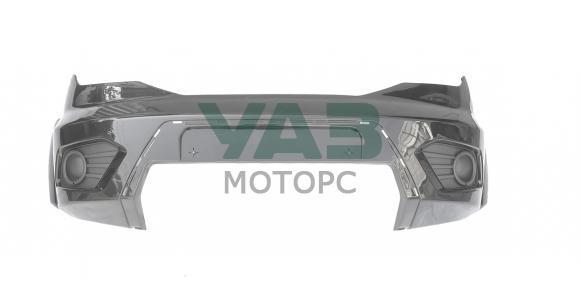 Бампер передний Уаз Патриот с 2015 года (TFM / тёмно-серый металлик) (ВМ Авто) 3163-80-2803012