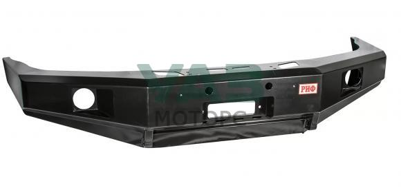 Бампер РИФ силовой передний (с ПТФ / без защитной дуги) УАЗ Патриот, 3163 (RIF060-10356)