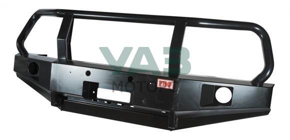 Бампер РИФ силовой передний (с ПТФ / защитной дугой) Уаз Патриот, 3163 (RIF060-10350)