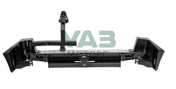 Бампер РИФ силовой задний (с квадратом под фаркоп / калитка / стандарт) Уаз Патриот, 3163 (до 2014 года) RIF060-21120