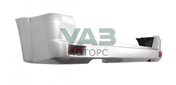 Бампер задний Уаз Патриот (белый, арктика БСЕ  / в сборе / без парктроников) с 2015 года (ОАО УАЗ) 3163-80-2804012-00
