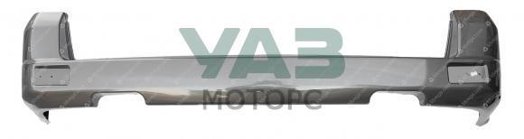 Бампер задний Уаз Патриот (голый / коричнево-серый металлик RIM) с 2015 года (ОАО УАЗ) 3163-80-2804012-00