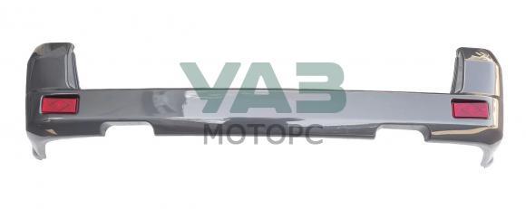 Бампер задний Уаз Патриот (коричнево-серый металлик RIM / в сборе / без парктроников) с 2015 года (ОАО УАЗ) 3163-80-2804012-00