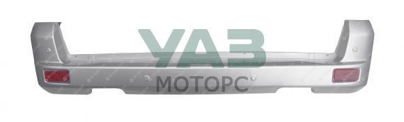 Бампер задний Уаз Патриот (серебристый SEB / в сборе / с датчиками парковки) с 2015 года (ОАО УАЗ) 3163-80-2804012-30