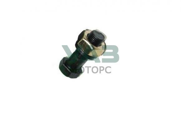 Болт карданный (черный) с гайкой и гровером Уаз (Автонормаль) 0000-00-0201518-29