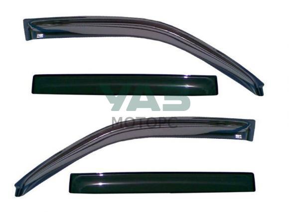 Дефлекторы на окна (комплект 4 штуки) Уаз Патриот (Voron Glass / Def00314) 0063-00-8212002