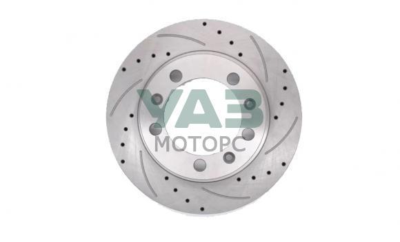 Диск тормозной передний перфорированный (ОАО УАЗ) 3160-3501076-04