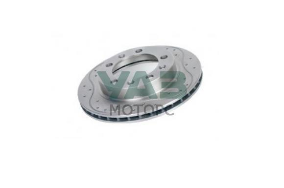 Диск тормозной передний перфорированный УАЗ Sport (ExpertDetal) 3160-00-3501076-01