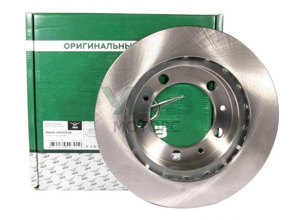 Диск тормозной передний УАЗ  (ОАО УАЗ) (3160-00-3501076-02)