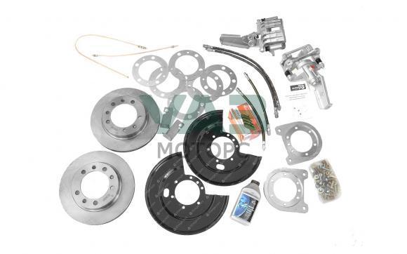 Дисковые тормоза (задние) комплект установочный Уаз Патриот с 2013 года / РК Dymos (Уаз Моторс)