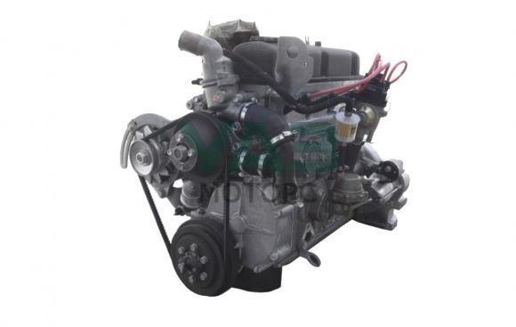 Двигатель в сборе УМЗ 4178 (82 л.с. / АИ-92 / карбюратор / рычажное сцепление) (ОАО Волжские моторы) 4178.1000400-01