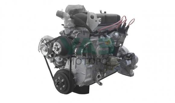 Двигатель в сборе УМЗ 4218 (89 л.с. / Аи-92 / лепестковая корзина) (ОАО Волжские моторы) 4218.1000402-30