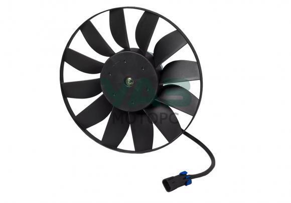 Электровентилятор охлаждения радиатора (без кожуха) Уаз Патриот (Luzar / LFc 0360) 3160-00-1308024-00