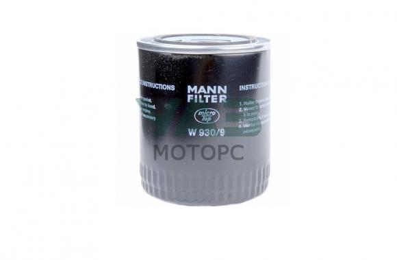 Фильтр масляный Уаз (ЗМЗ 409, 514) (Mann Filter W 930/9) 0406-00-1012006-00