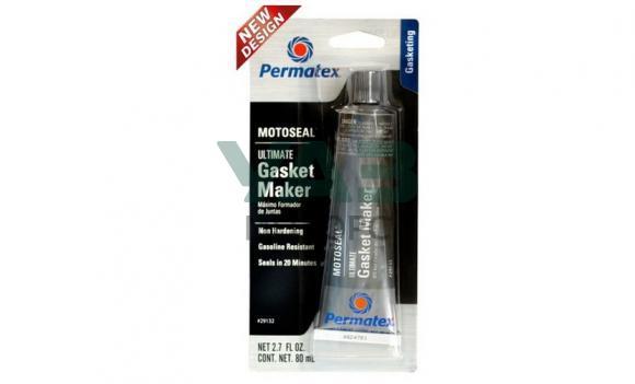 Герметик-прокладка серый (бензостойкий) 80 мл. (Permatex / 29132)