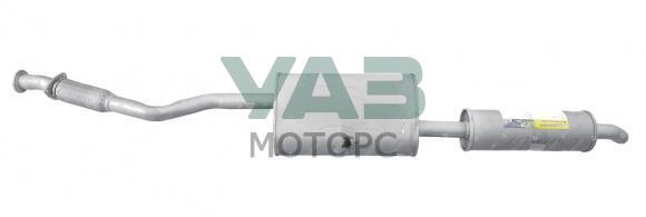 Глушитель с резонатором Уаз Пикап, Карго ЗМЗ 409 (L-1900) (Н.Новгород) 2360-00-1201008-01