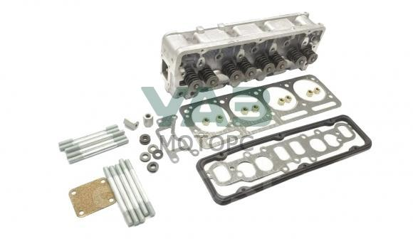 Головка блока цилиндров в сборе (клапана / крепёж / прокладка) УМЗ 4213 (инжектор) (ОАО Волжские моторы) 4213.1003010