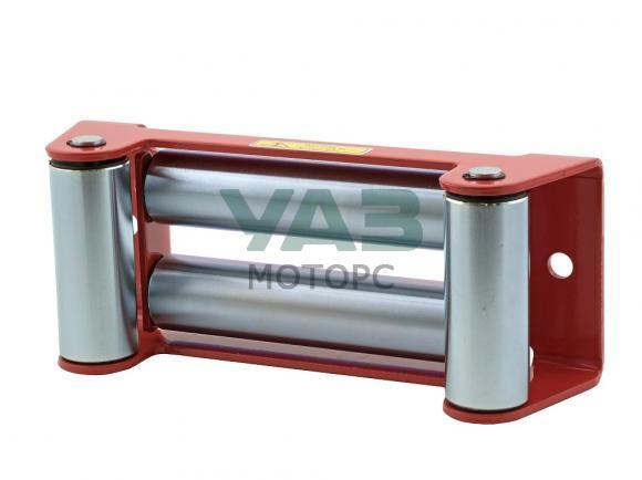 Клюз роликовый (под стальной трос) redBTR (расстояние между болтов 254 мм)