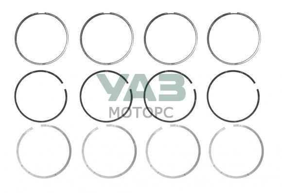 Кольца поршневые (ремонтные 96,0  / узкие) ЗМЗ 40904 Евро 4, 5 (ОАО ЗМЗ) 40524.1000100-12AR