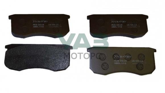 Колодки тормозные передние УАЗ Патриот, Хантер, Буханка (комплект 4 штуки) (Nippon Япония ADB0610) 3160-3501090