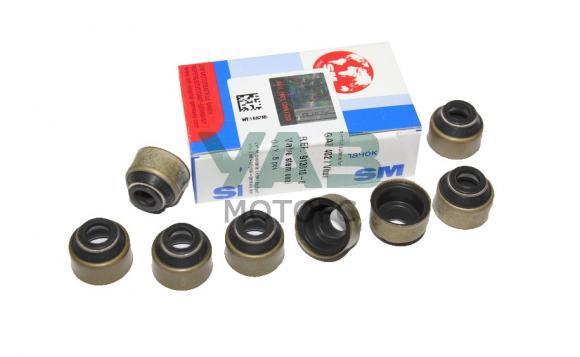 Колпачки маслосъемные (комплект 8 штук) ЗМЗ 402 / УМЗ 417 (SM / Германия) 402-1007036