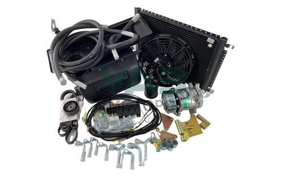 Комплект кондиционера установочный Уаз Хантер (ЗМЗ 409) (Прохлада-Авто)