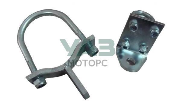 Комплект установки рулевого демпфера на длинную тяга (шток-ухо)