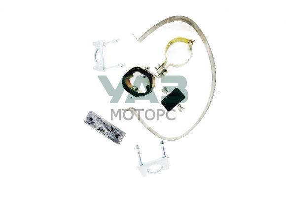 Комплект установочный глушителя (болты, подушка, хомуты) Уаз 469, 3151 до 2000 года (карбюраторный двигатель) (Н. Новгород) RG469-1203000