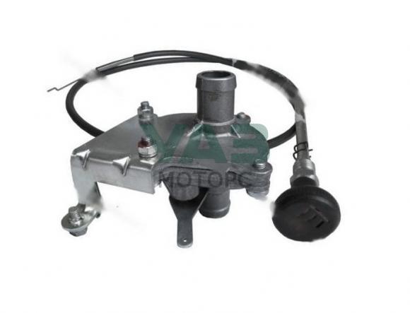 Кран отопителя керамический с установочным комплектом (D-18) Уаз 3741 (ЯВВА Ульяновск) 452-8101400-18