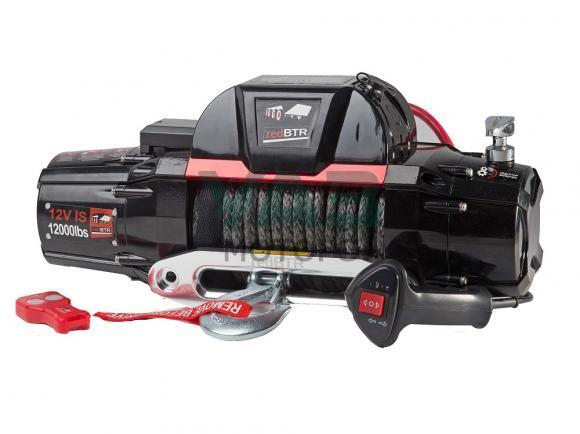 Лебедка redBTR серия Country Side Gen II 12000IbS (12v, 5448 кг, редуктор 216:1) интегрированный блок