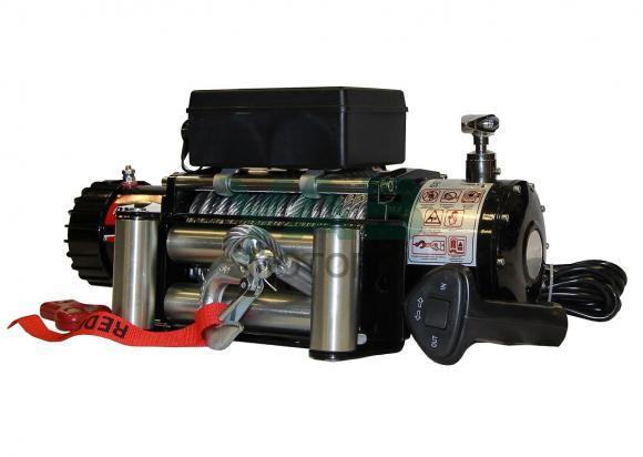 Лебедка redBTR серия Hunter 9500lb, (12V, 4310 кг, редуктор 265:1)