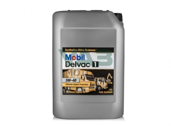 Масло моторное Mobil Delvac 5w40 (дизельное, синтетическое) 20 литров 152709
