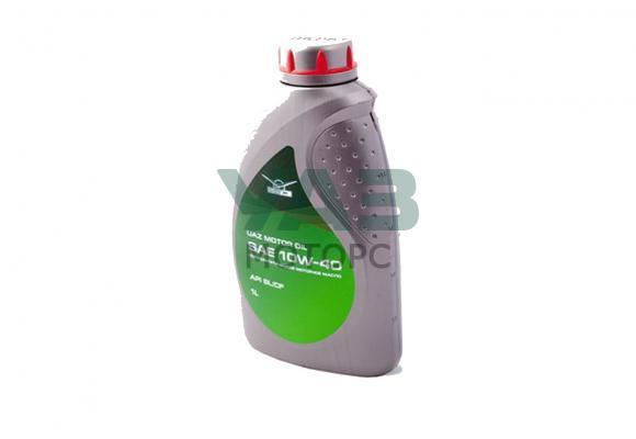 Масло моторное Уаз Motor oil premium 10W-40, полусинтетика (1 литр) (ОАО УАЗ) 0001-01-0011040-01