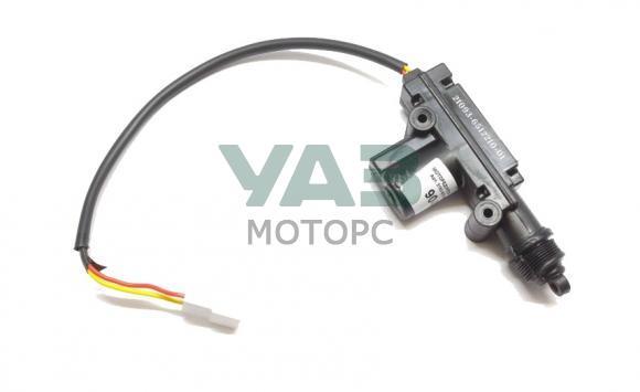 Моторедуктор блокировки замка двери левый (одна фишка / два провода) Уаз Патриот (Ульяновск) 3162-00-6105501-00