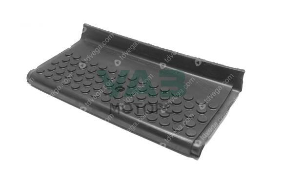 Накладка подножки (короткая задняя / резина) Уаз 3162, Патриот (ОАО УАЗ) 3162-8405585