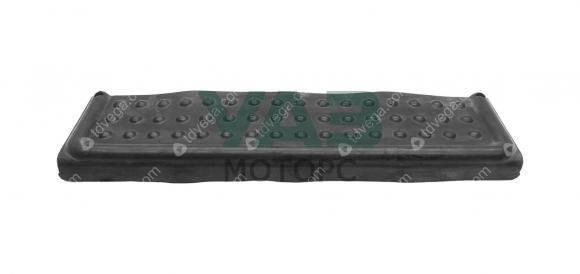 Накладка подножки заднего бампера (резина) Уаз 3162 (Патриот до 2015 года) (Волжскрезинотехника) 3163-2804048
