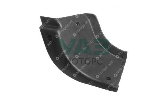 Накладка подножки (задняя правая / угловая / резина) Уаз 3162, Патриот (ОАО УАЗ) 3160-8405592