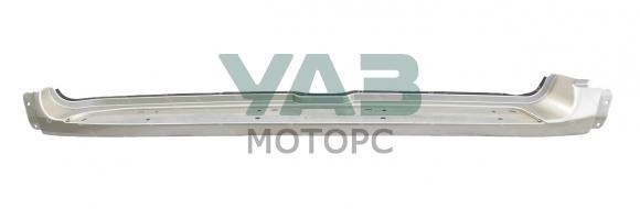 Облицовка подножки левая (пластик / серебристый металлик / SEB) Уаз Патриот с 2015 года (ООО Уаз-Автокомпонент) 3163-00-8405141-00