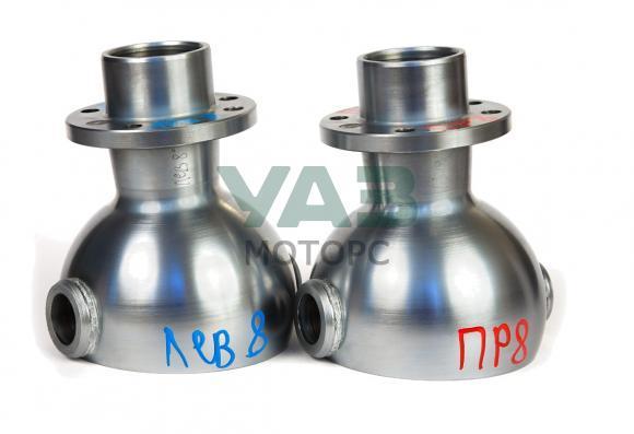 Опора шаровая (ШОПК) усиленная (хром-алмазное покрытие) кастор +8 (комплект 2 штуки) для мостов Тимкен (Ваксойл / Бийск) 452-2304012