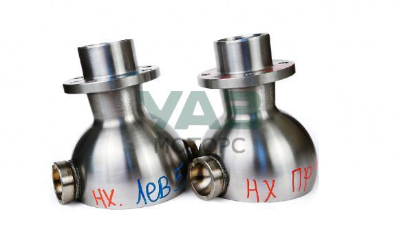 Опора шаровая (ШОПК) усиленная кастор +5 (комплект 2 штуки / мост Спайсер, Тимкен гибрид / хром-алмазное покрытие) (Ваксойл / Бийск) 3162-00-2304012-10