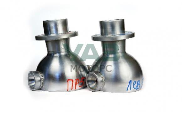 Опора шаровая (ШОПК) усиленные с хром-алмазным покрытием, кастор +5 (комплект 2 штуки / мост Спайсер, Тимкен гибрид) (Ваксойл / Бийск) 3162-00-2304012-10