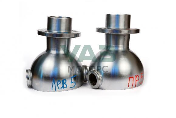 Опора шаровая (ШОПК) усиленные с хром-алмазным покрытием, кастор +5 (комплект 2 штуки / мост Тимкен) (Ваксойл / Бийск) 0452-00-2304012-00