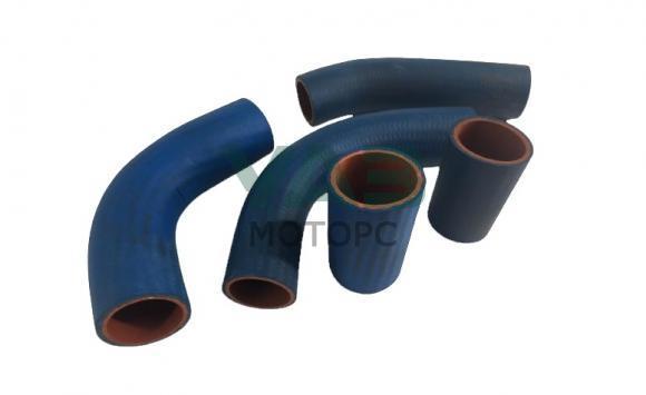 Патрубки радиатора УМЗ 421 (100 л.с. / 5 штук / синие) (VPT / Балаково) 31601-1303010