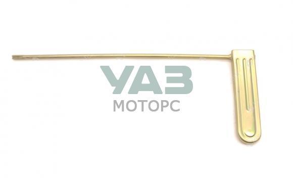 Педаль акселератора Уаз 452, 3909 (карбюраторный двигатель) (Ульяновск) 452-1108010