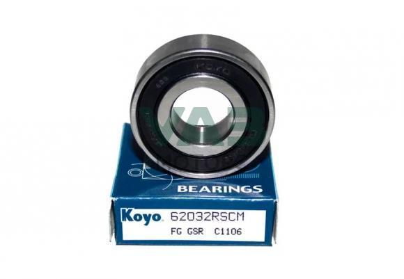 Подшипник опорный в маховик, генератора (коленвала) (Koyo 62032RSCM Япония) 180203